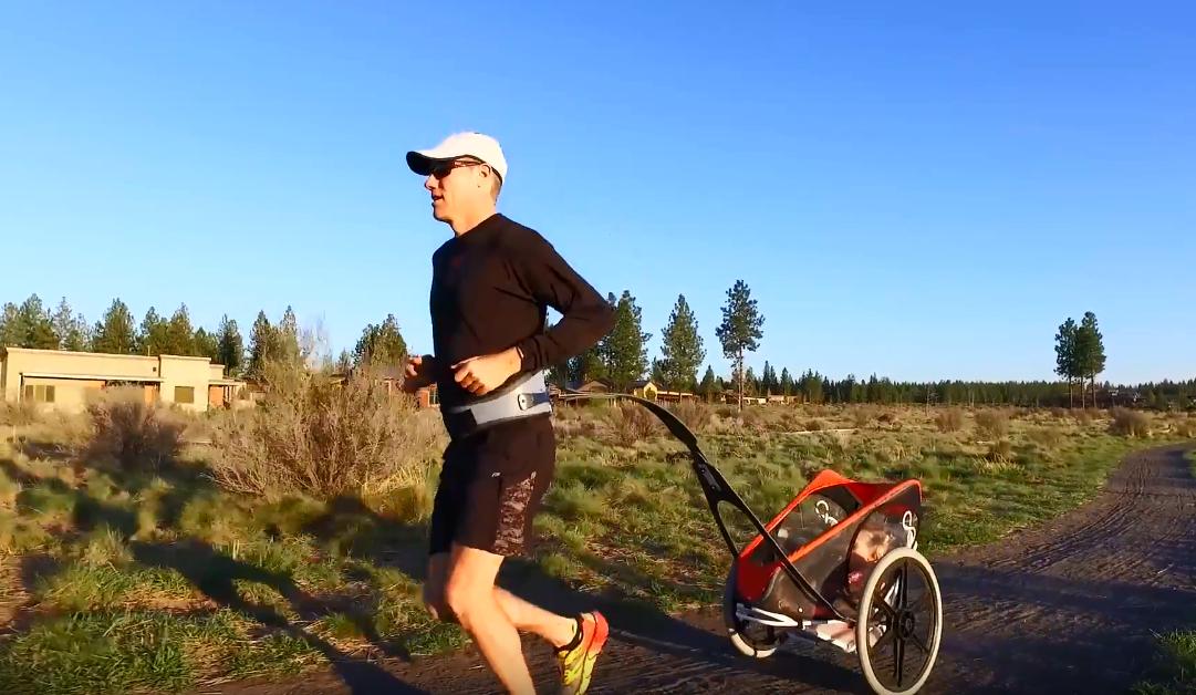 Cet appareil vous permet de courir librement avec votre bébé