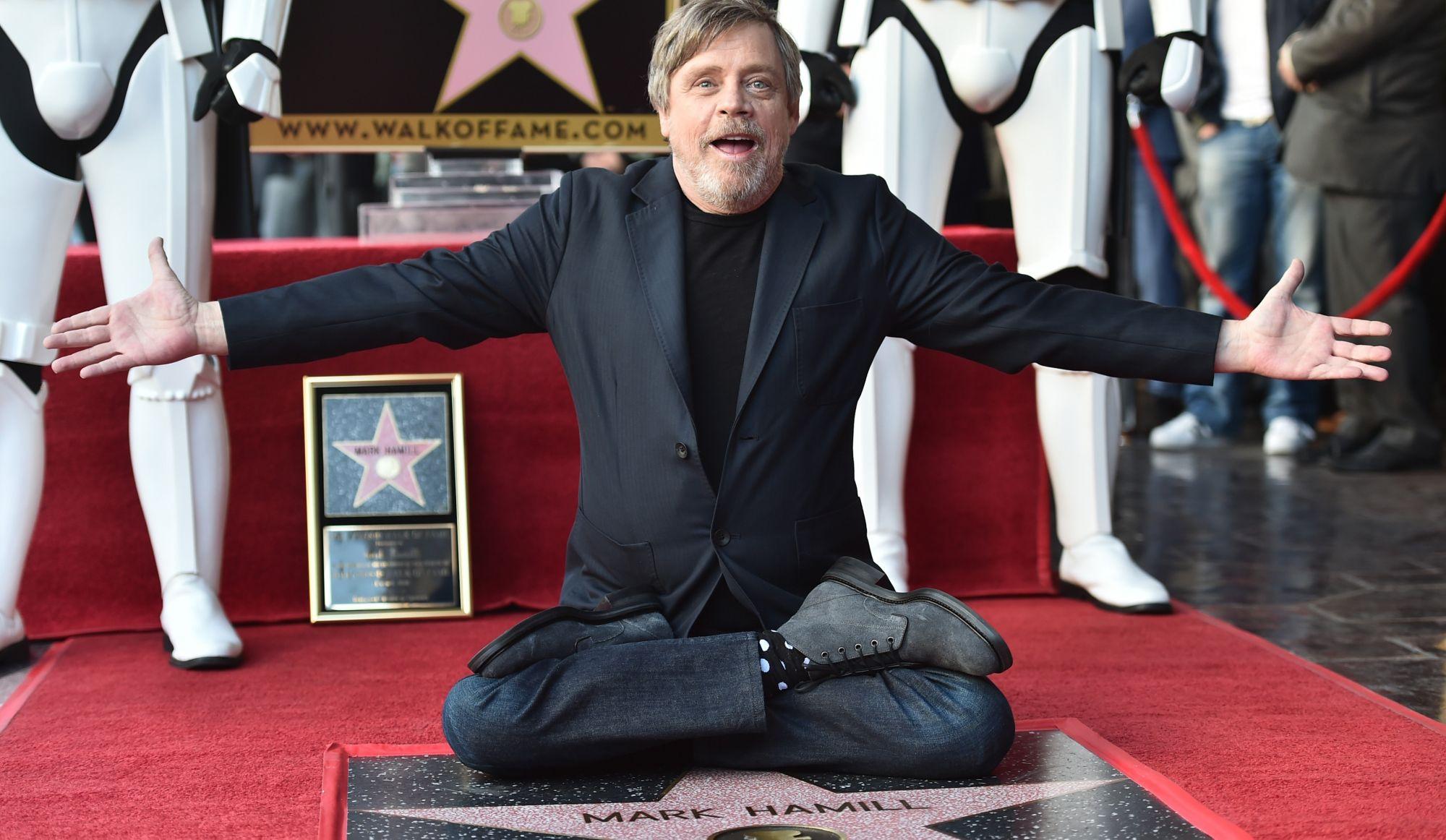 Une étoile pour Luke Skywalker