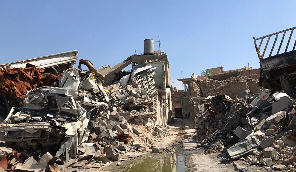 Reportage du 98,5 FM | L'État islamique a laissé Mossoul en ruines
