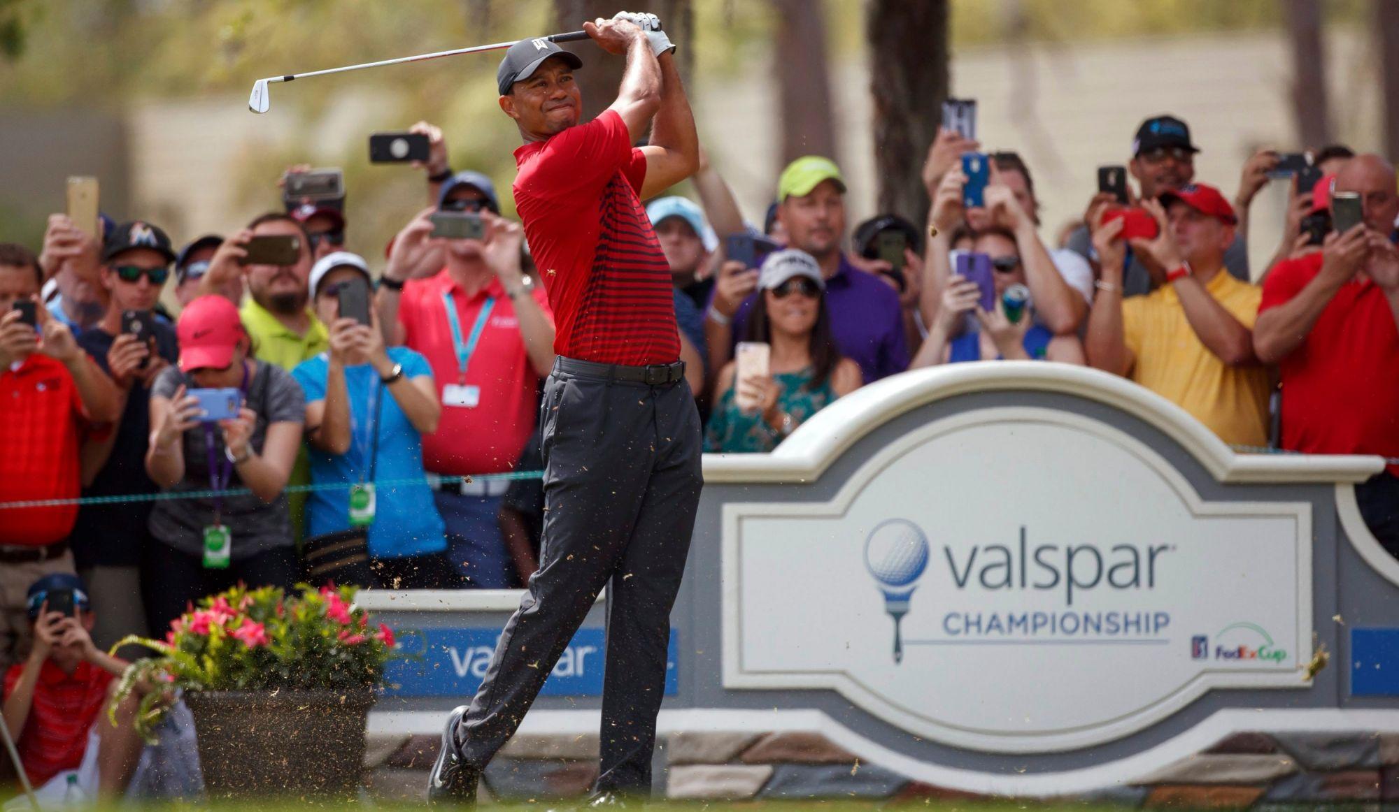 Tiger Woods a fait exploser les cotes d'écoute de la PGA