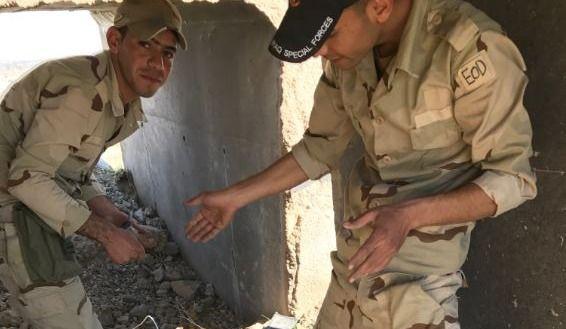 Reportage du 98,5 FM | Des démineurs irakiens en action (vidéo + galerie photos)