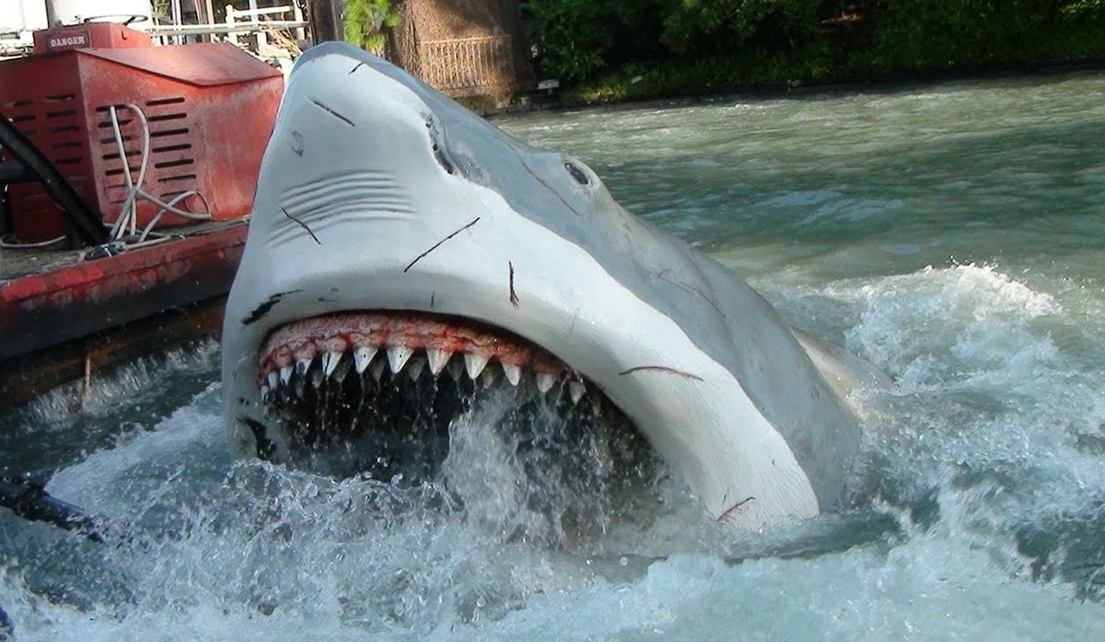 Nostalgie: l'attraction Jaws à Universal Studios