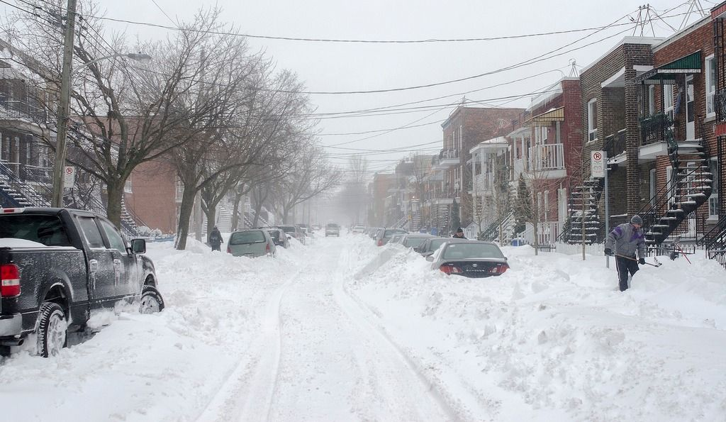 Another Winter Storm is Headed for Montreal
