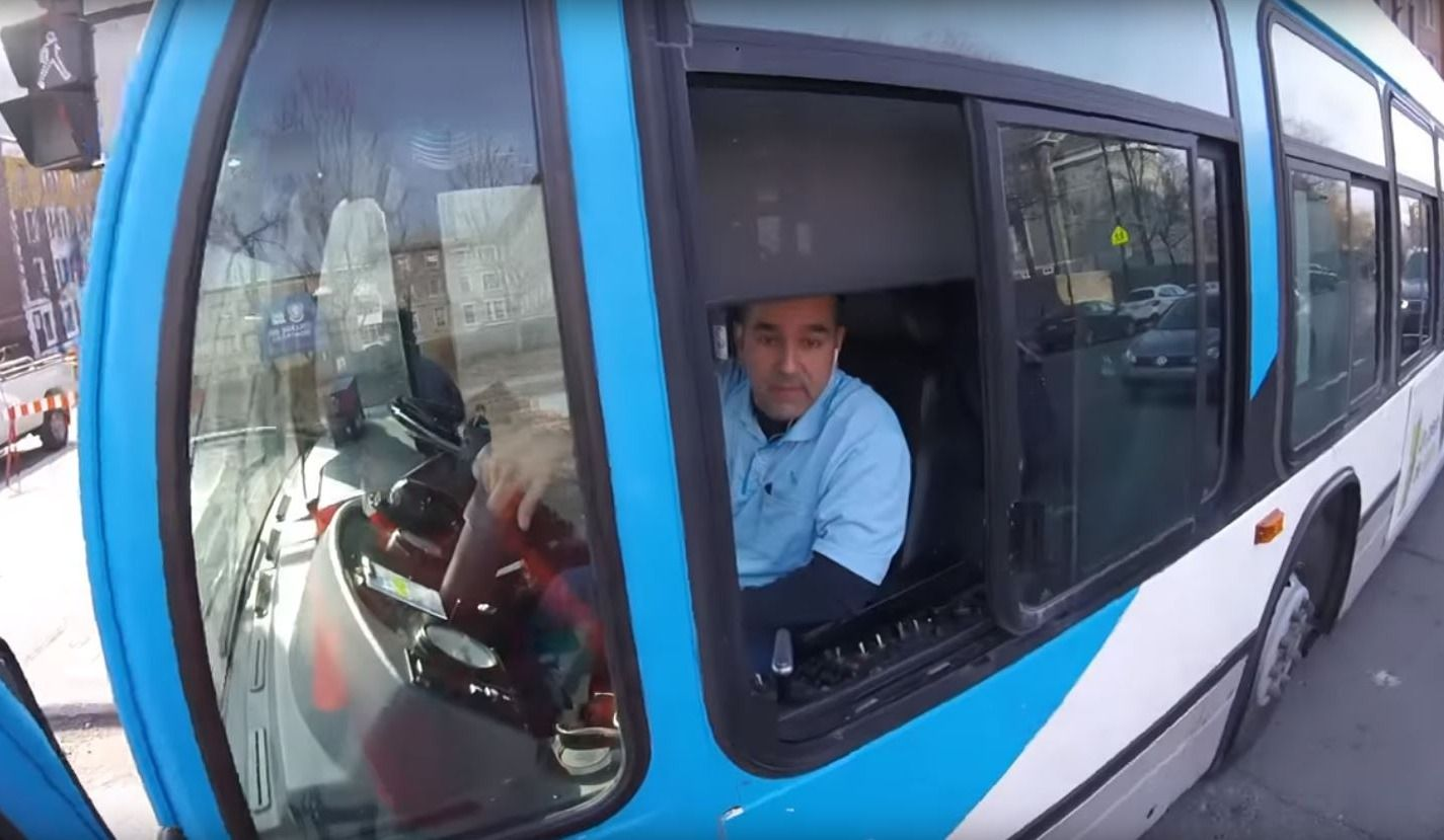 Video: Heated Exchange Between STM Driver and Cyclist
