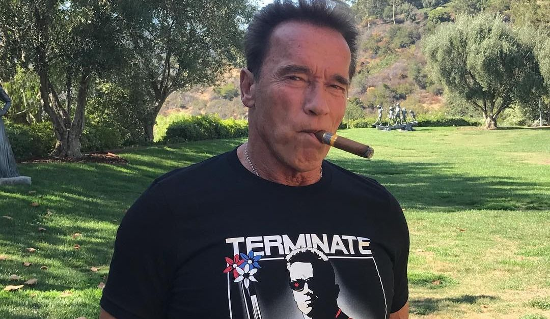 Arnold Schwarzenegger 'feeling much better' after open heart surgery