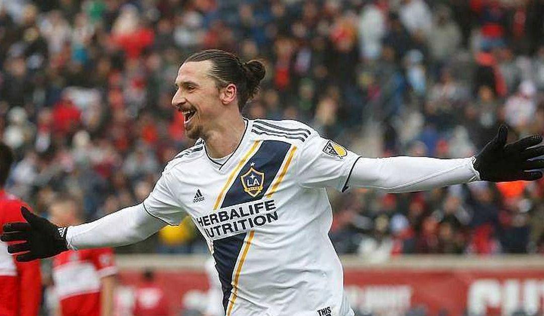 Un but pour Ibrahimovic à son premier départ avecle Galaxy