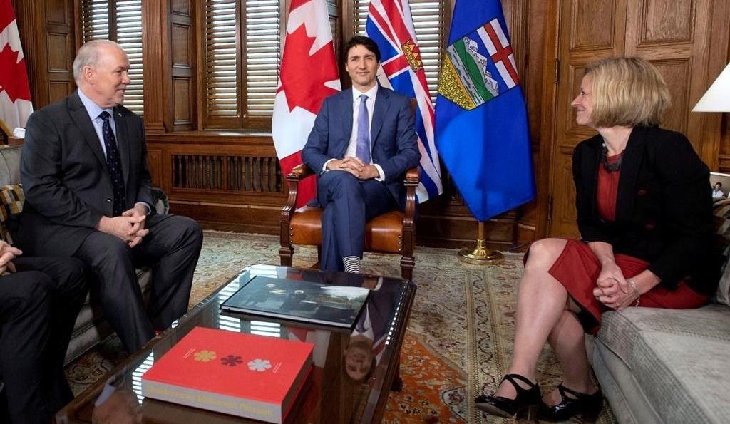 «L'oléoduc Trans Mountain sera construit» - Justin Trudeau