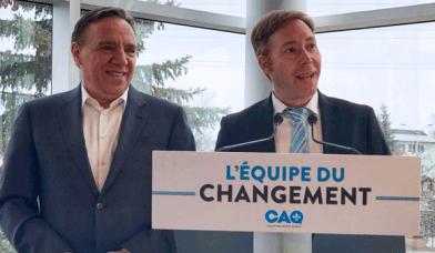 L'économiste Youri Chassin portera les couleurs de la CAQ dans St-Jérôme