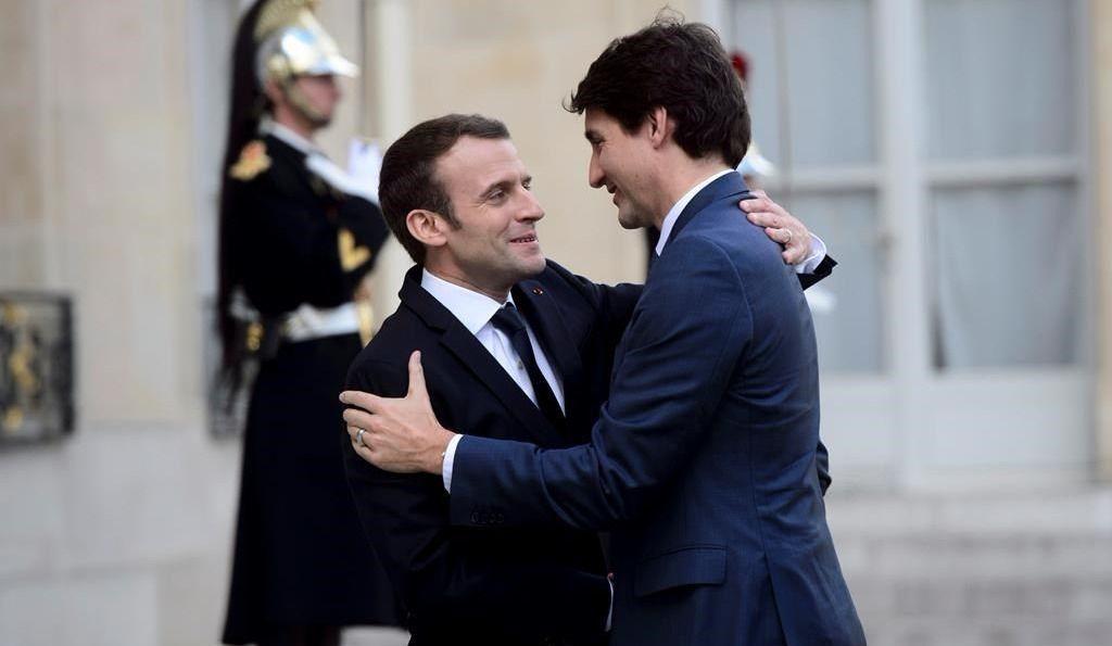 Syrie et Mali: Emmanuel Macron remercie Justin Trudeau
