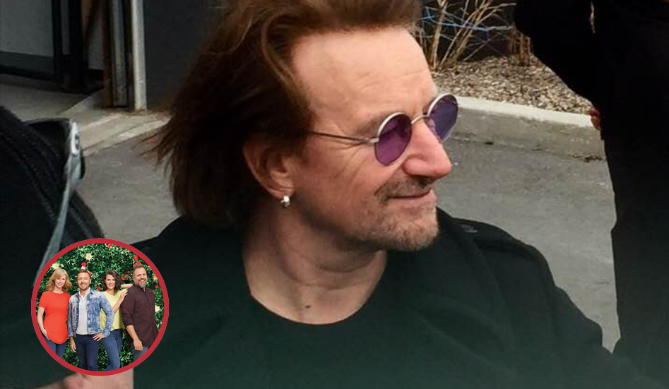 Stéphane Richard a rencontré Bono!