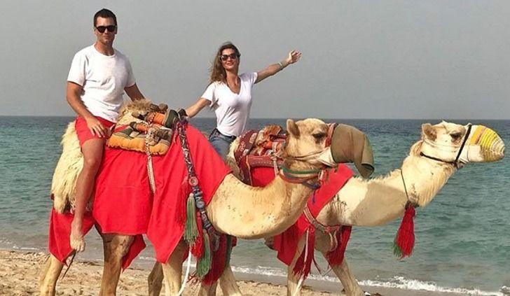 Tom Brady en vacances au Qatar (galerie photos)