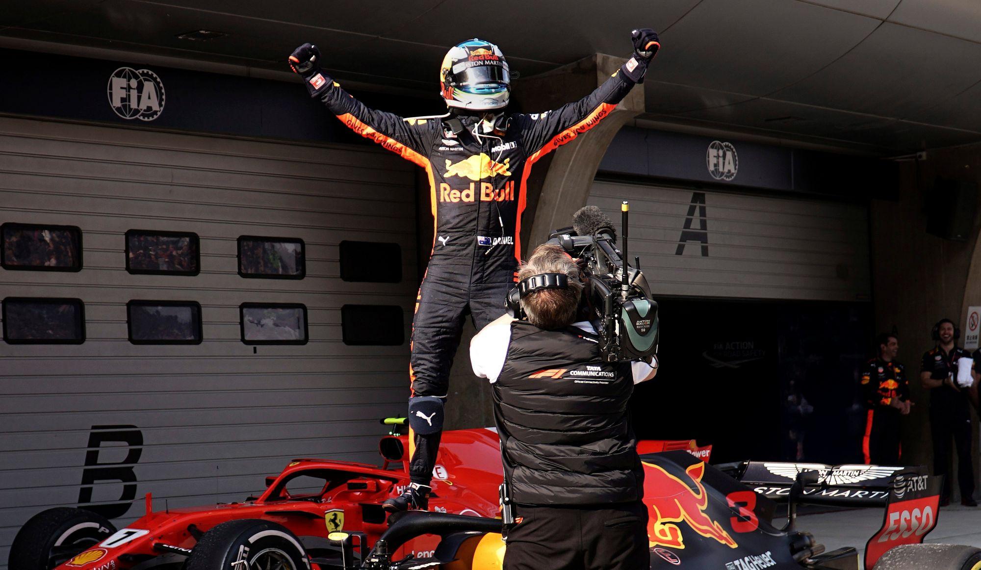 «Sans la voiture de sécurité, (Ricciardo) ne gagne pas la course» - Jacques Villeneuve