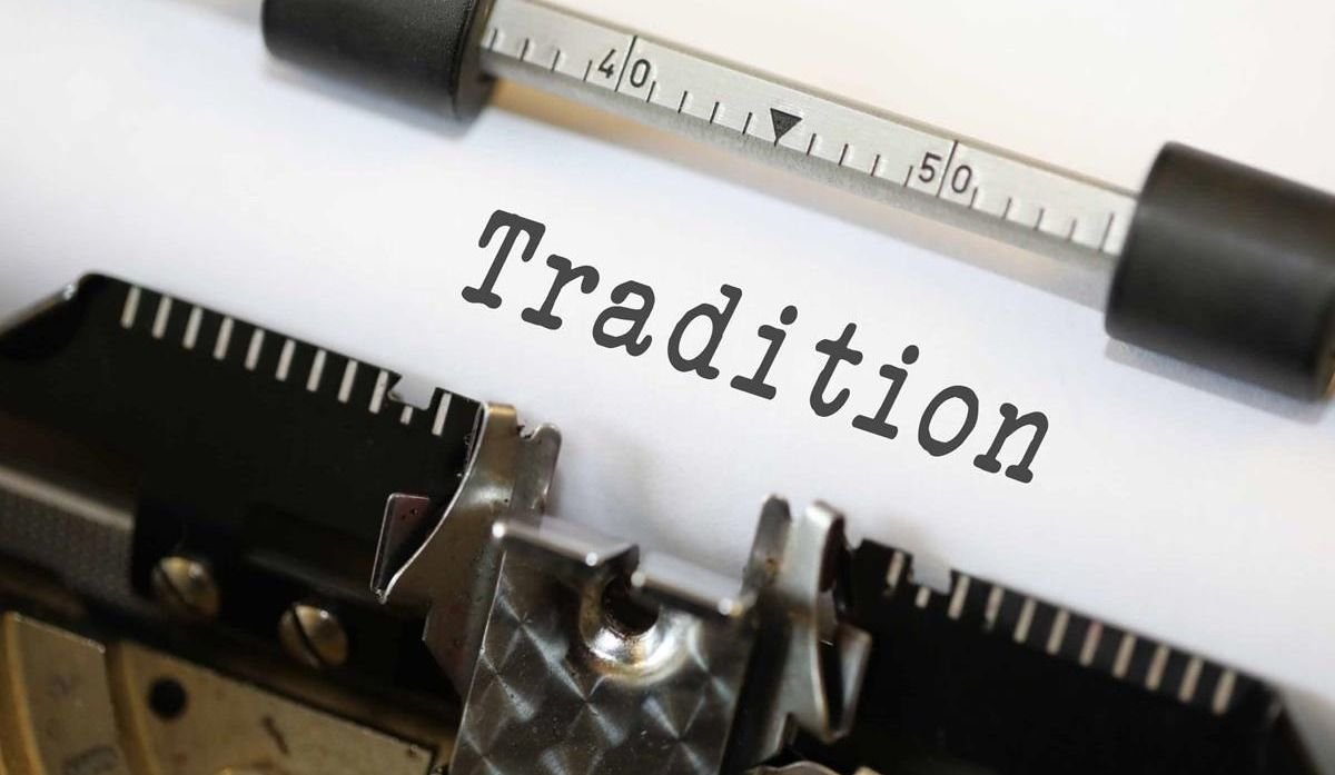 L'importance des traditions