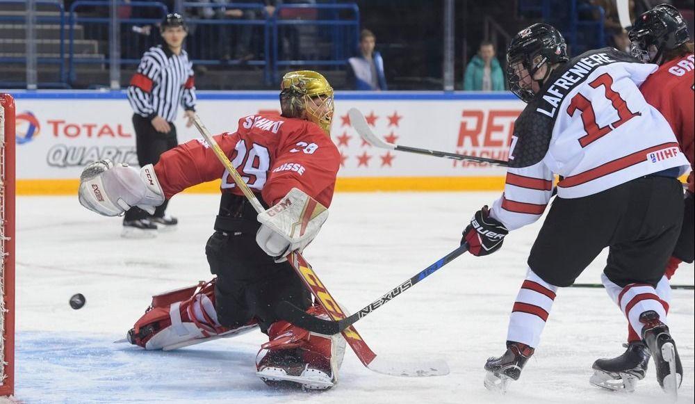 Championnat mondial U18: trois gains en trois matches pour le Canada