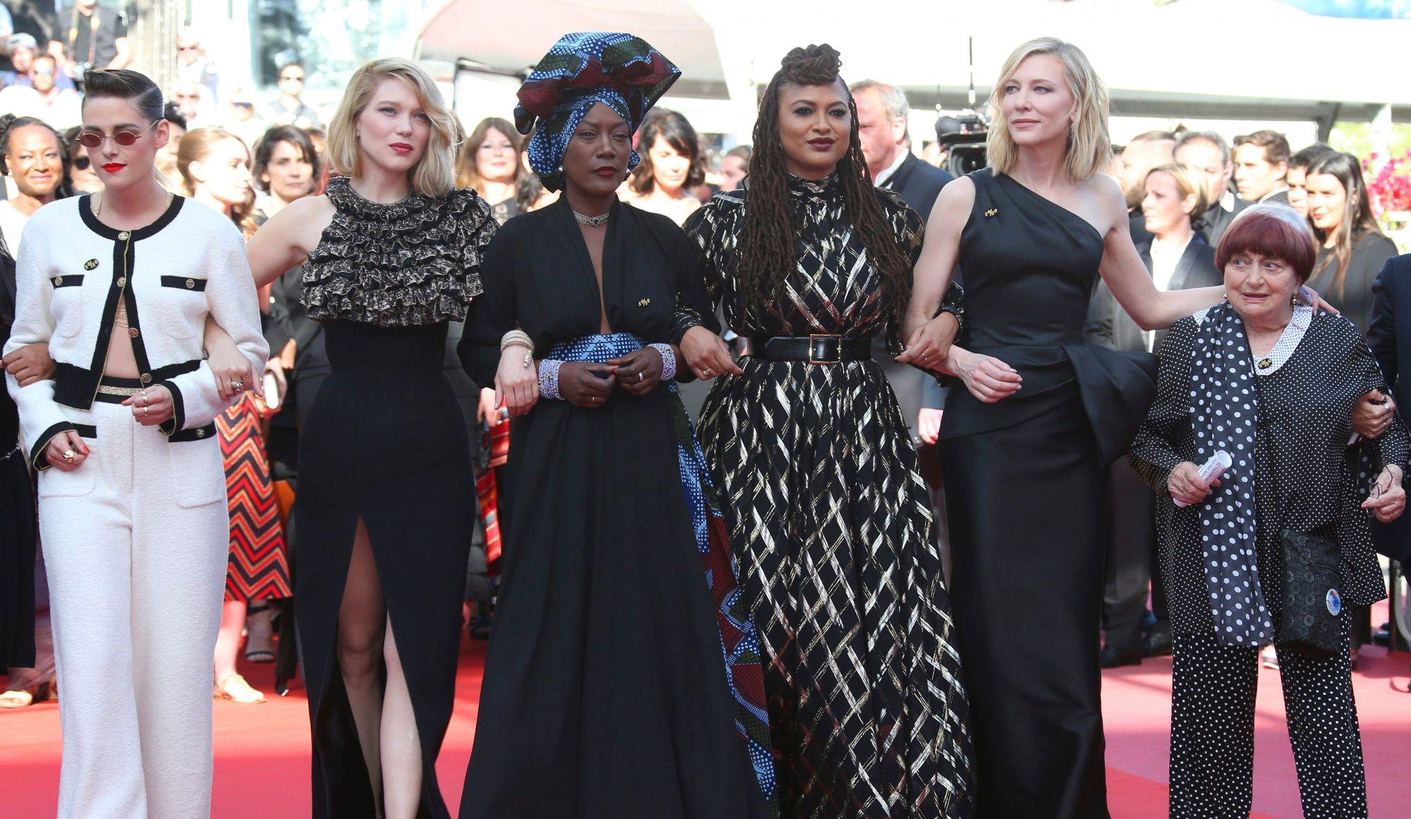Festival de Cannes: Catherine Beauchamp a assisté à la soirée 100% féminine