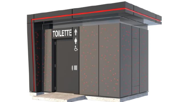 La première toilette automatique est ouverte
