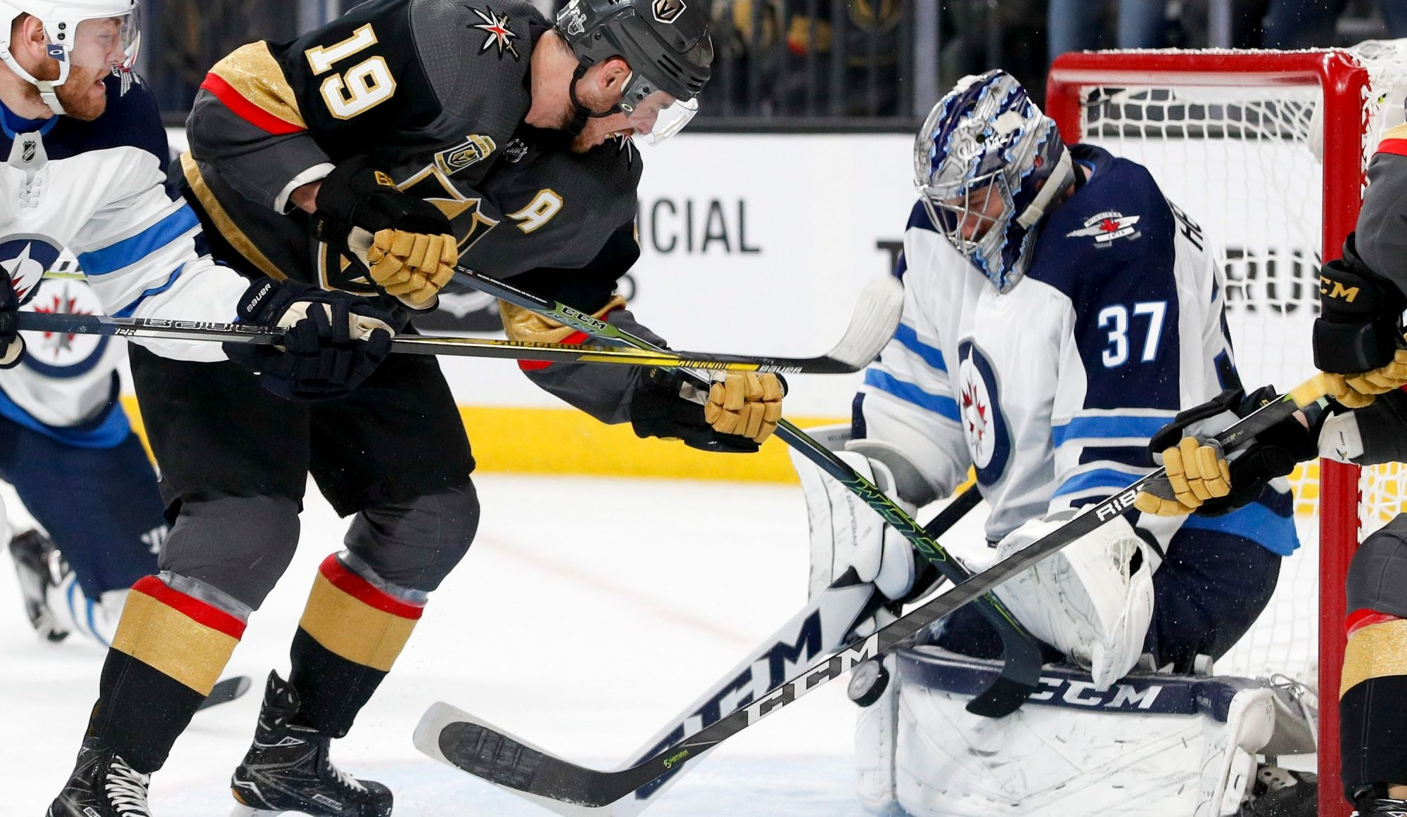 Les Golden Knights l'emportent 4-2 contre les Jets