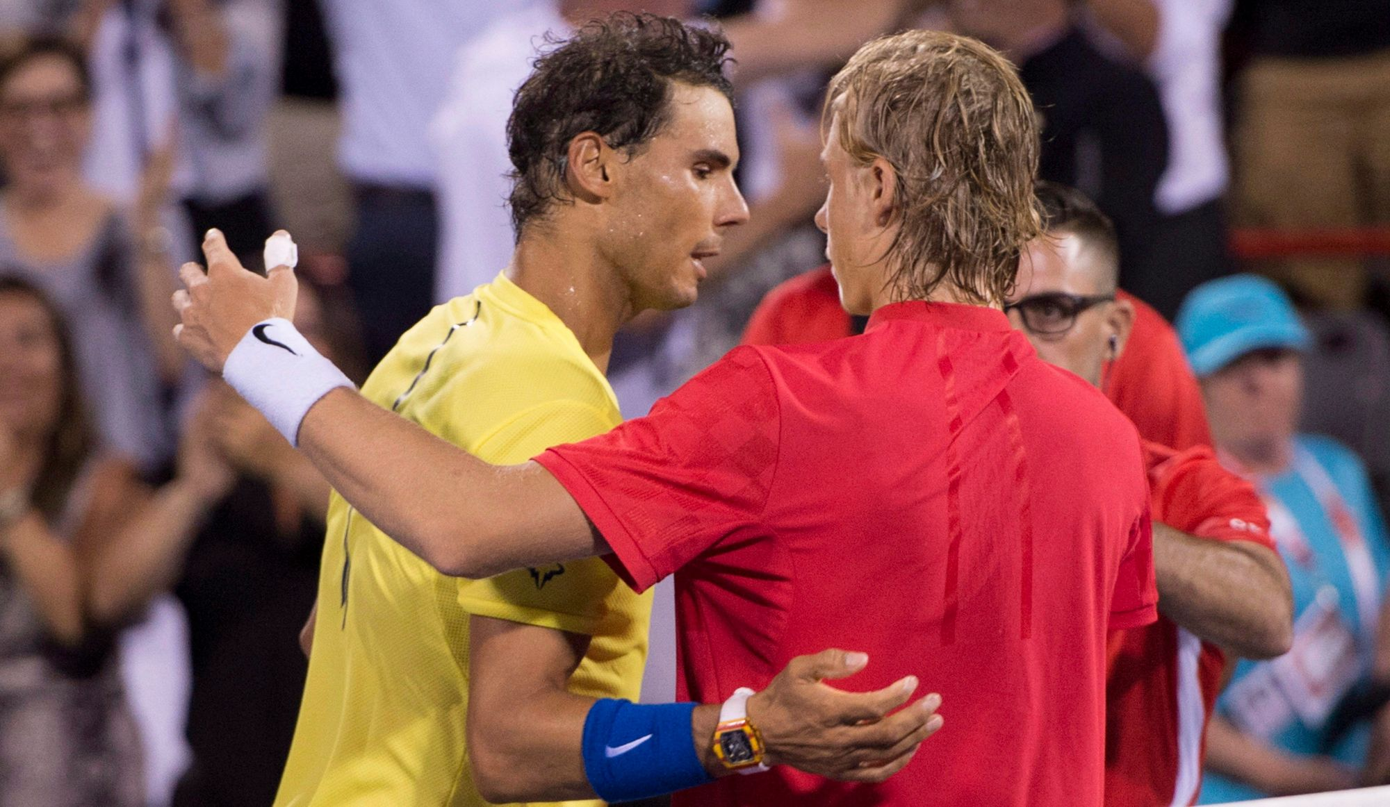 Douce revanche de Rafael Nadal face à Denis Shapovalov
