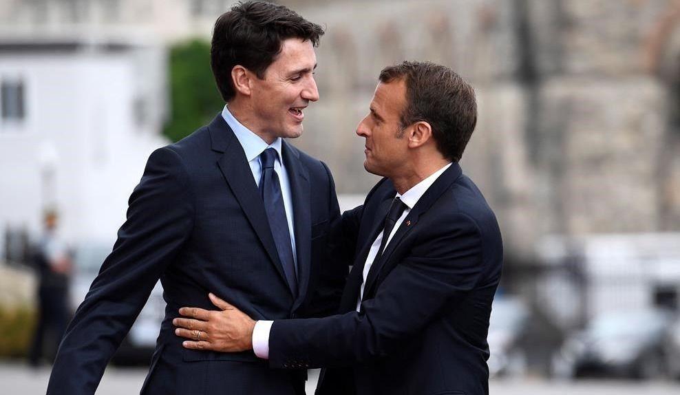 G7: Macron et Trump ont eu une discussion