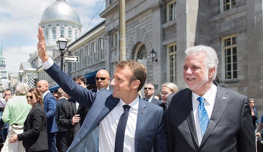 G7: le président Macron bientôt à Québec