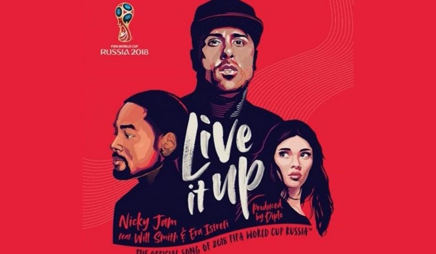"OFFICIAL WORLD CUP SONG - ""LIVE IT UP"""