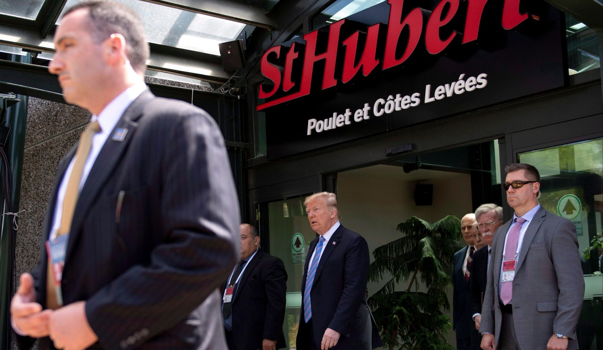 Qu'a mangé Donald Trump durant le G7?