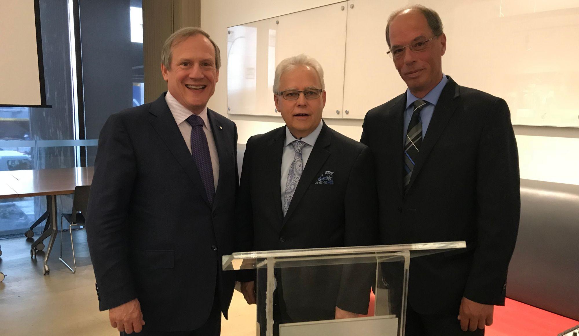 Michel Lorrain succède à Richard Lachance au poste de Président de Cogeco Média