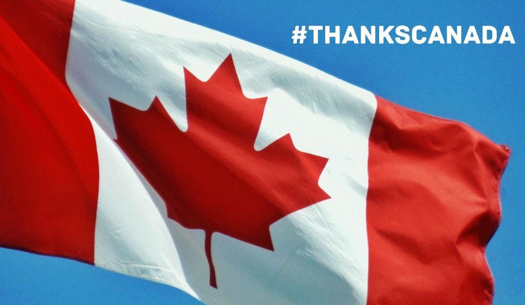 Americans say #ThanksCanada