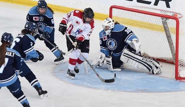 L'Estrie bien représentée au Hockey Féminin.
