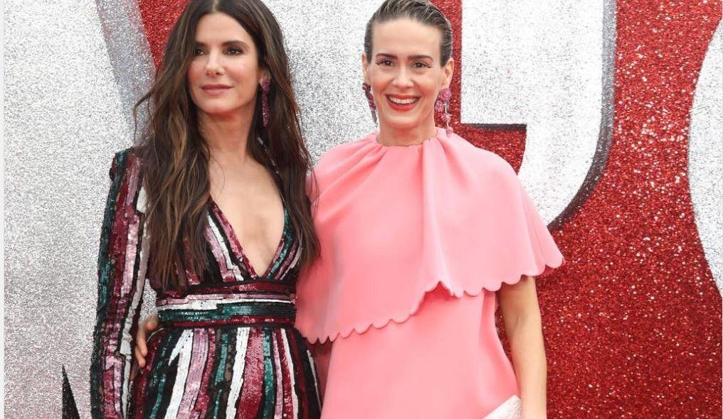Fans divided by Sarah Paulson's 'ravioli' dress at Ocean's 8 premiere