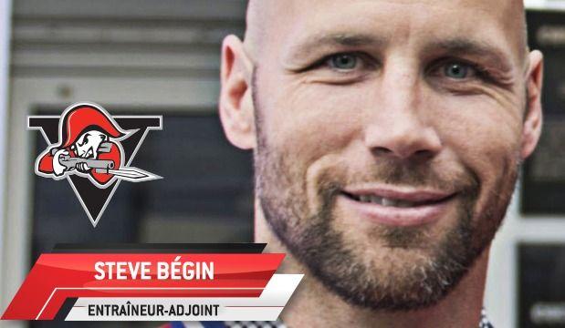 Steve Bégin nommé assistant-entraîneur des Voltigeurs