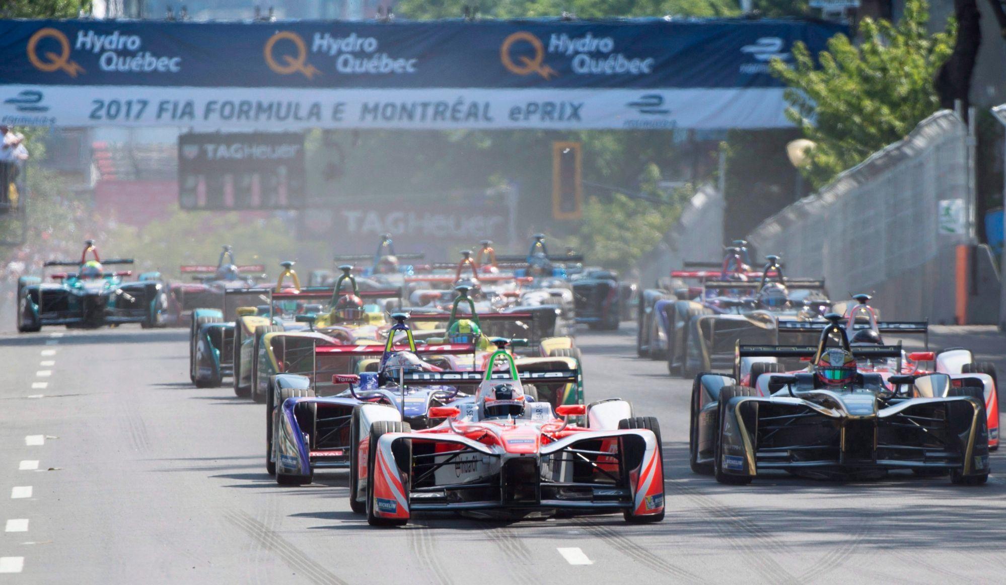 Formule E: poursuite de 33 M $ contre Montréal et Valérie Plante