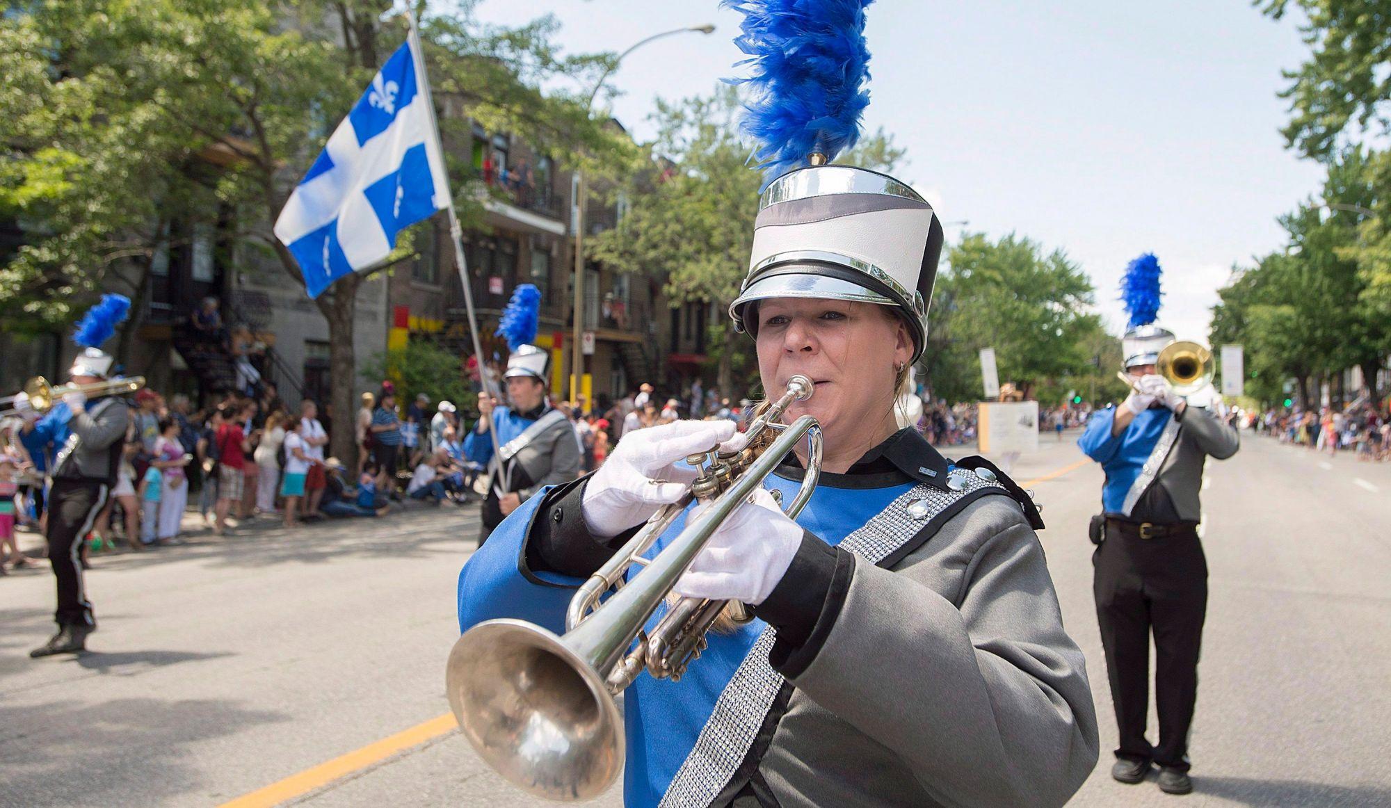 Fête nationale à Montréal: 2 défilés convergeront vers la Place des Festivals