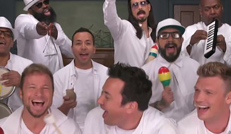 Les Backstreet Boys, Jimmy Fallon et The Roots reprennent I Want It That Way