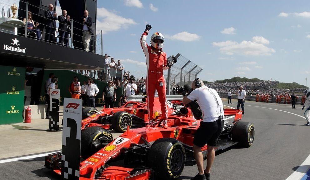 Vettel remporte le GP de Grande-Bretagne