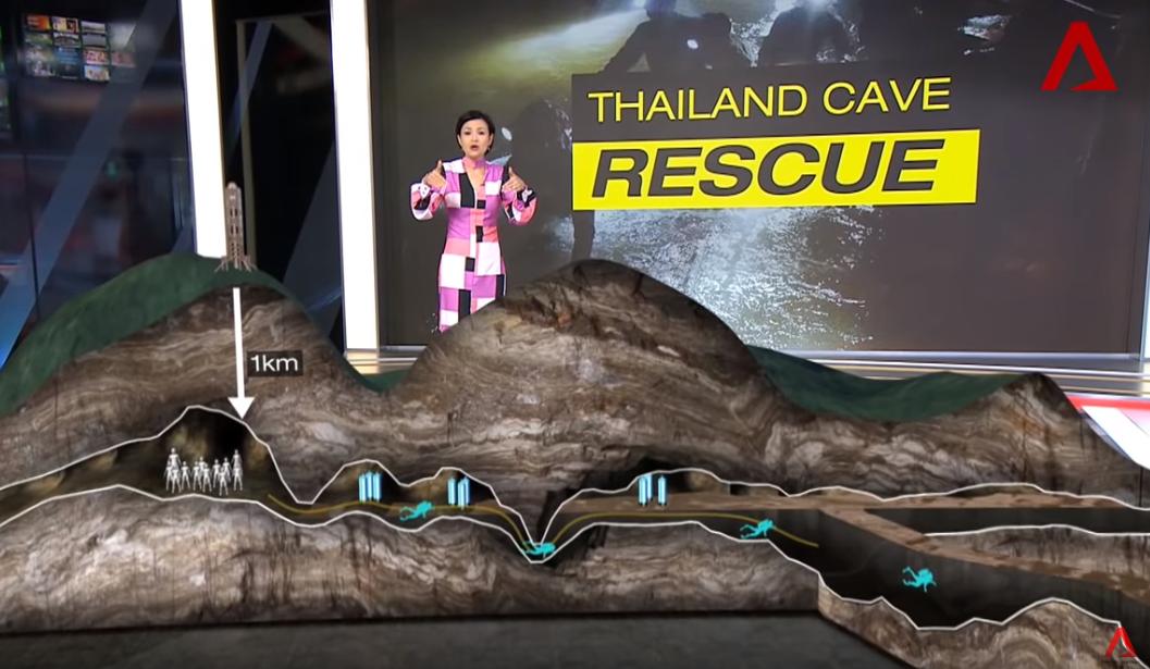 Il ne reste que 5 personnes dans la grotte en Thaïlande