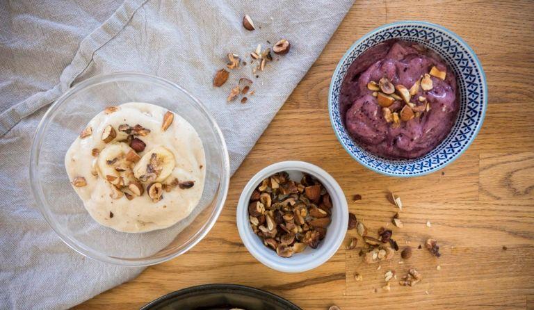 Recette de crème glacée végétalienne à personnaliser!