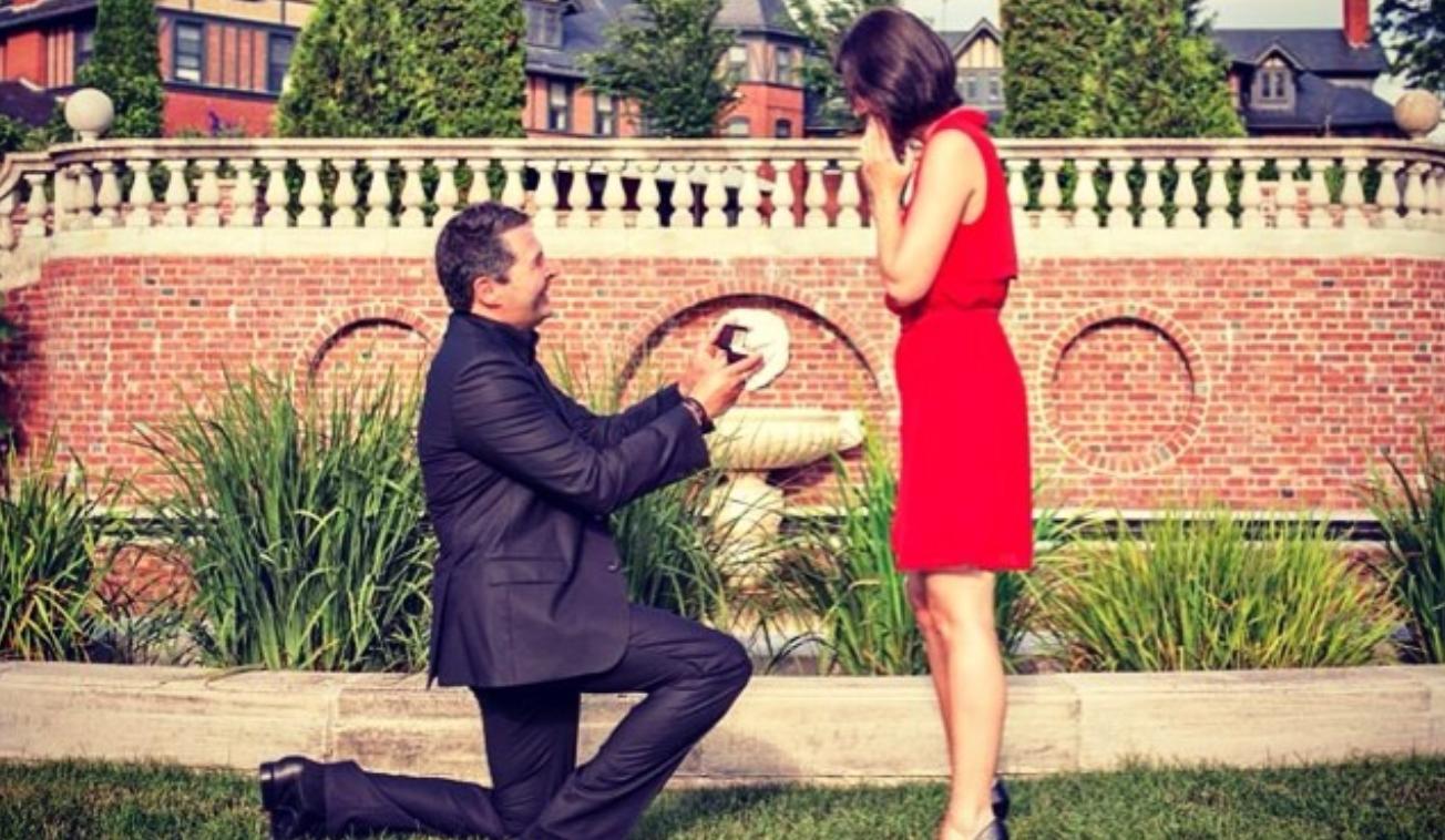Denis Fortin est un homme bien romantique!