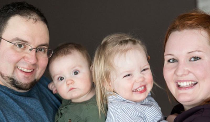 Un troisième enfant pour Luc et Mélissa de L'Amour est dans le pré!