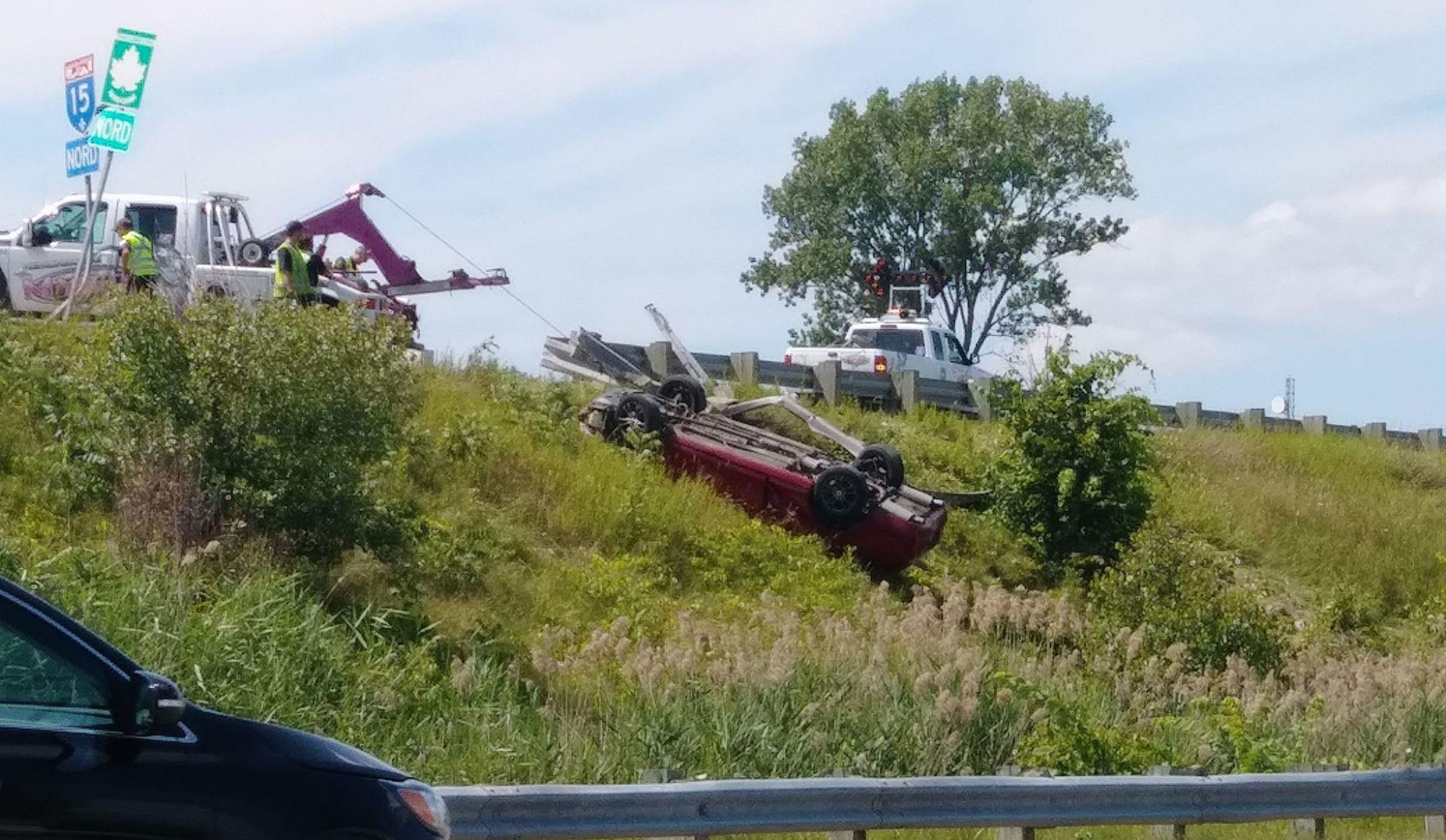 Un Montréalais perd la vie dans l'accident de la 15 à St-Jérôme