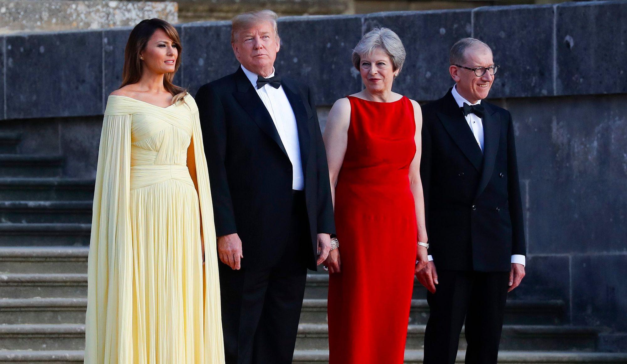 VIDÉO: «Je crois qu'ils m'aiment beaucoup» - Donald Trump au sujet des Britanniques