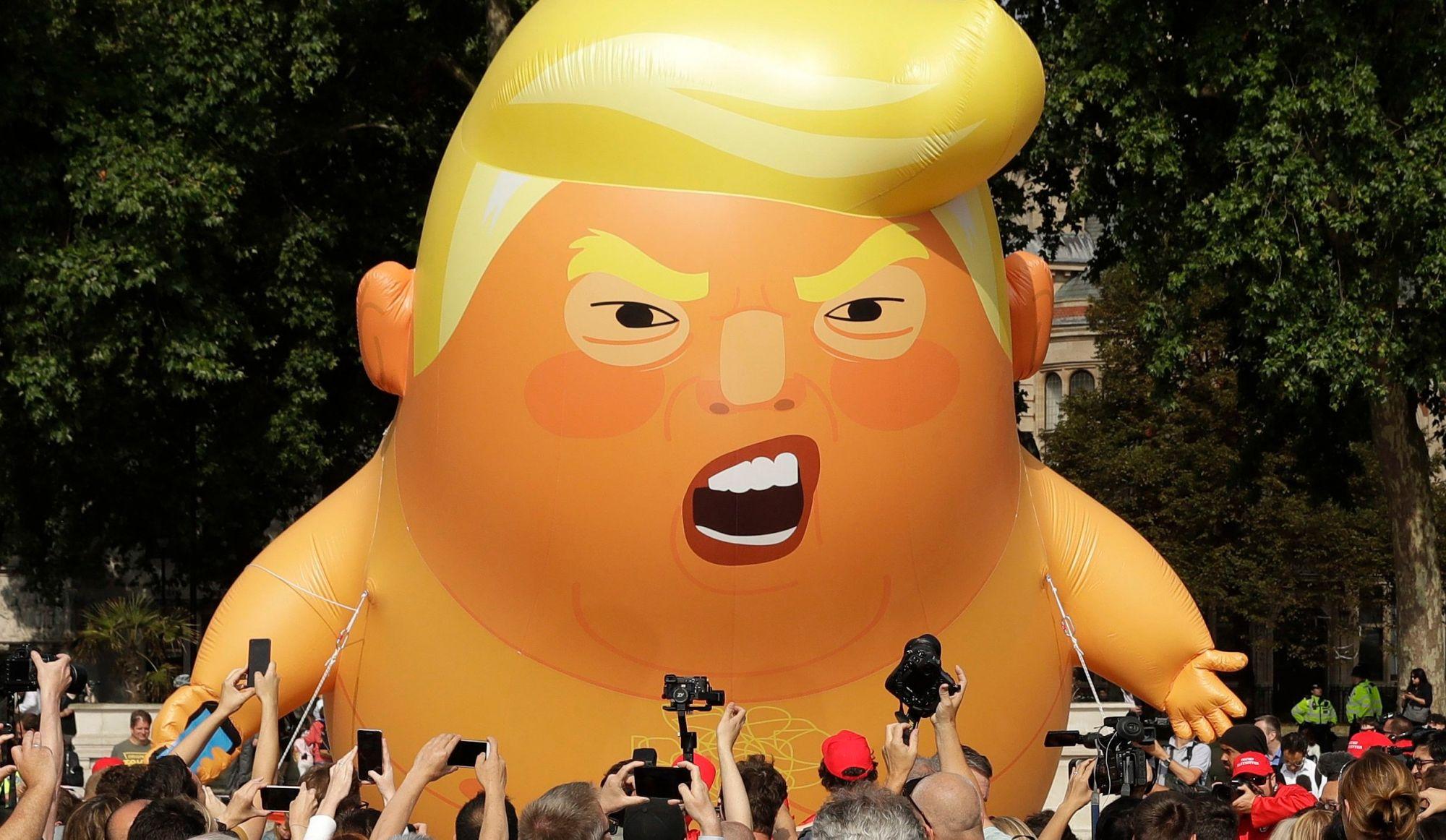Entrée fracassante au Royaume-Uni: Trump ne se sent pas le bienvenu
