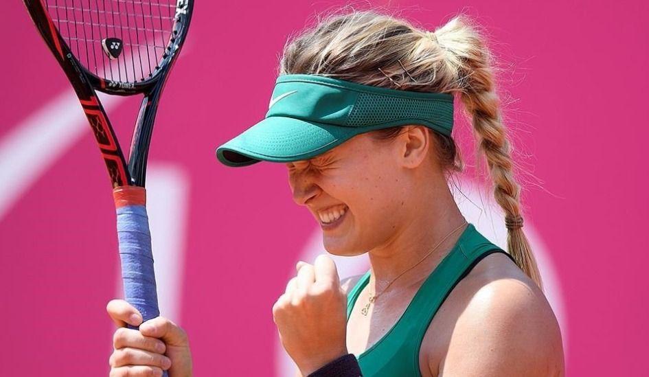 Eugenie Bouchard en quarts de finale à Gstaad
