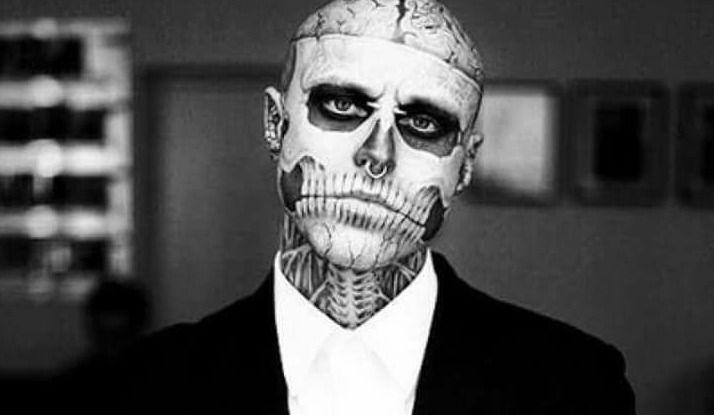 Le mannequin et ami de Lady Gaga s'est suicidé — Zombie Boy