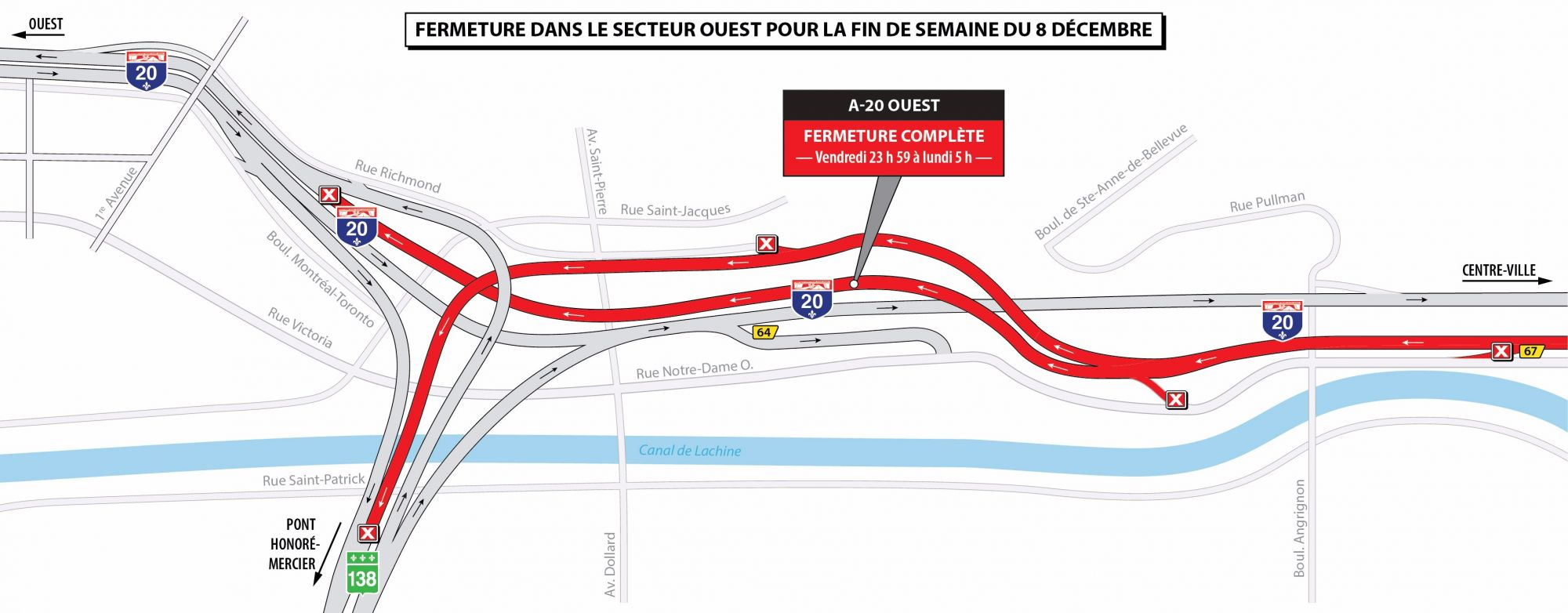 Brace Yourselves The Worst Of Turcot Traffic Starts Monday Wiring Diagram Mtq