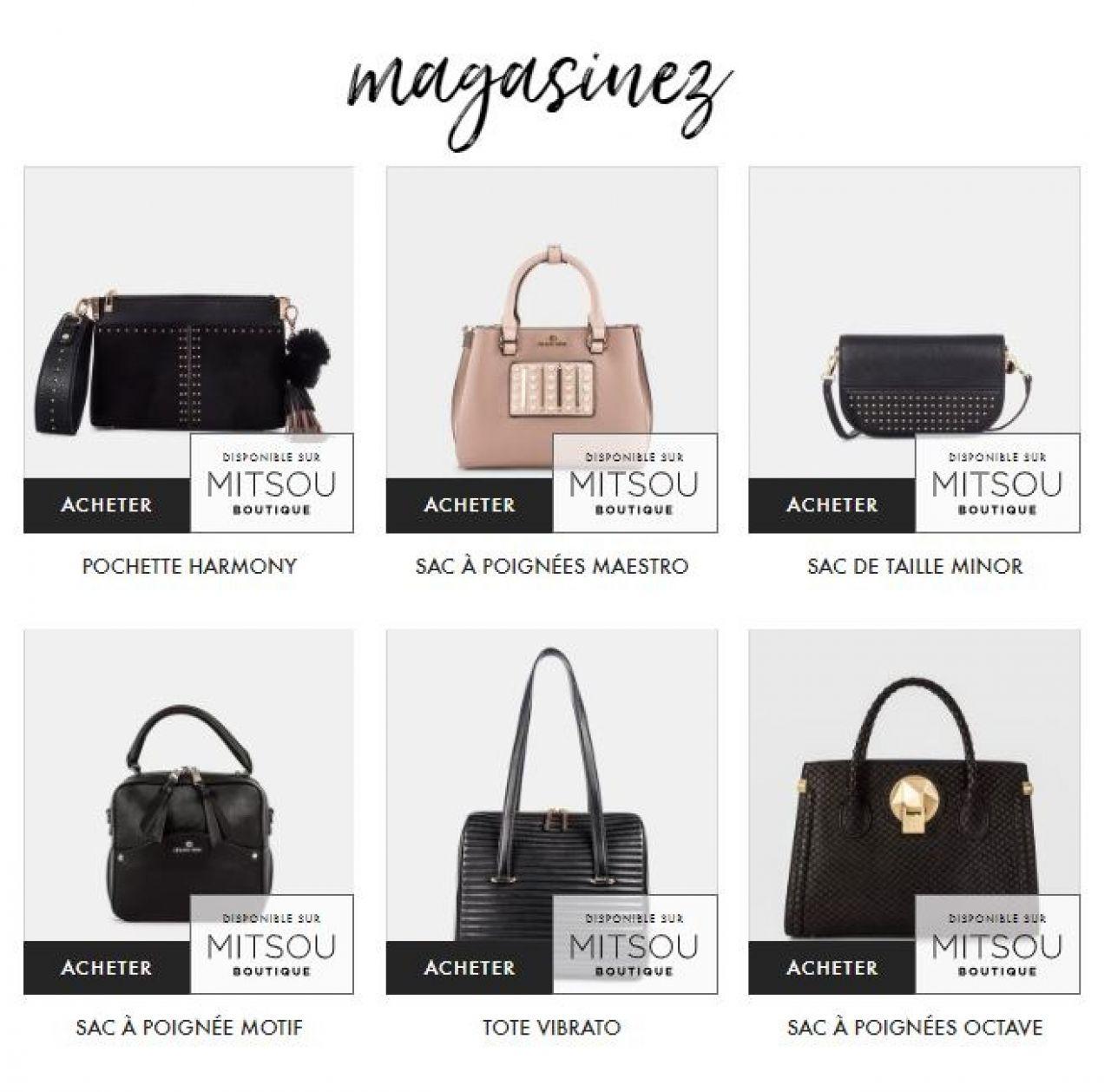 131bc68e56 Les sacs Céline Dion Collection maintenant offerts sur Mitsou ...