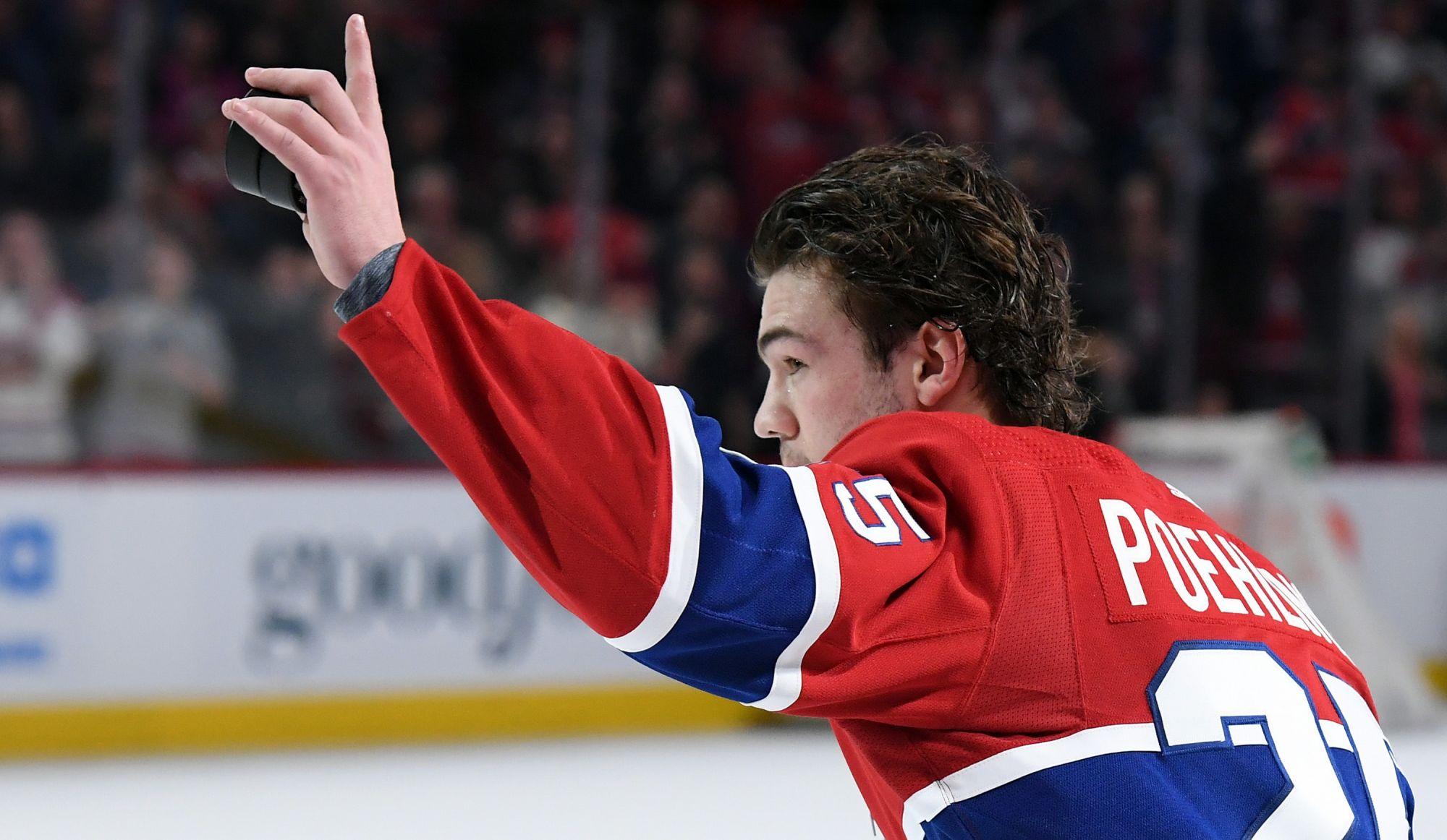Cédé à Laval, Ryan Poehling espère que ce n'est qu'un au revoir